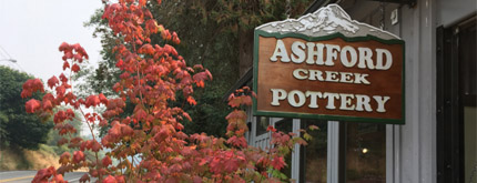 Exterior photo of Ashford Creek Pottery