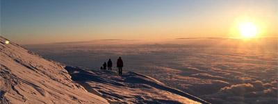 Photo from a Mt. Rainier climb