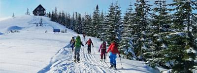 Trail Skiing near Ashford