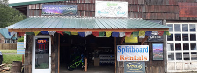 Photo of rainier mountain sportz storefront